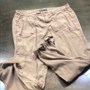 Anthropologie level 99 linen pants